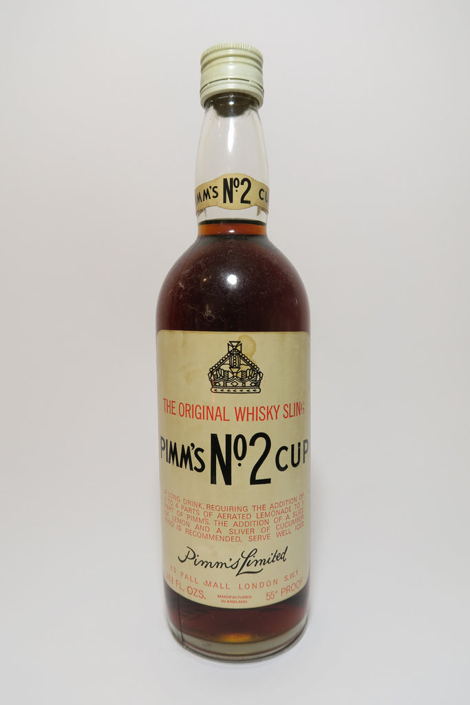 Pimm's No. 2 (Whisky) Cup - 1970s (31.4%, 75cl)