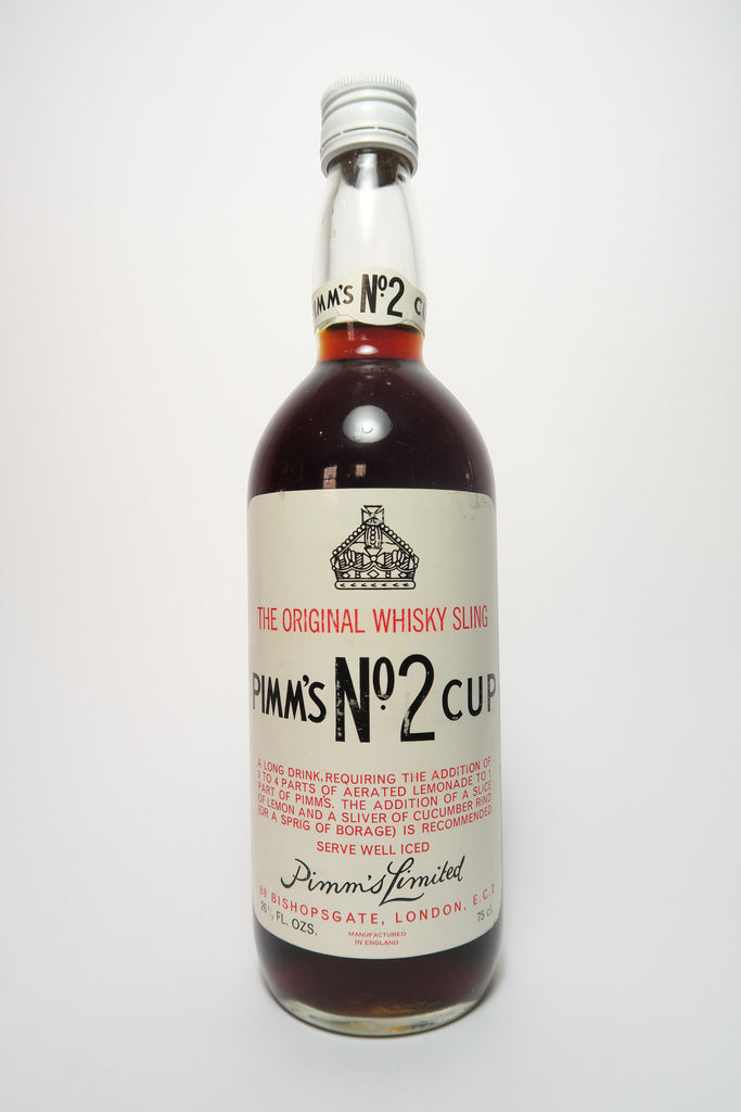Pimm's No. 2 (Whisky) Cup	- 1970s (ABV Not Stated, 75cl)