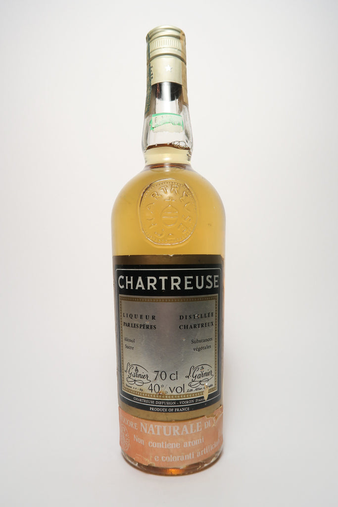 Chartreuse, Yellow Voiron - 1970s (40%, 75cl)