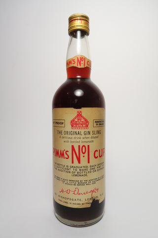 Pimm's No. 1 (Gin) Cup - c.1969 - 1970s (34%, 75cl)