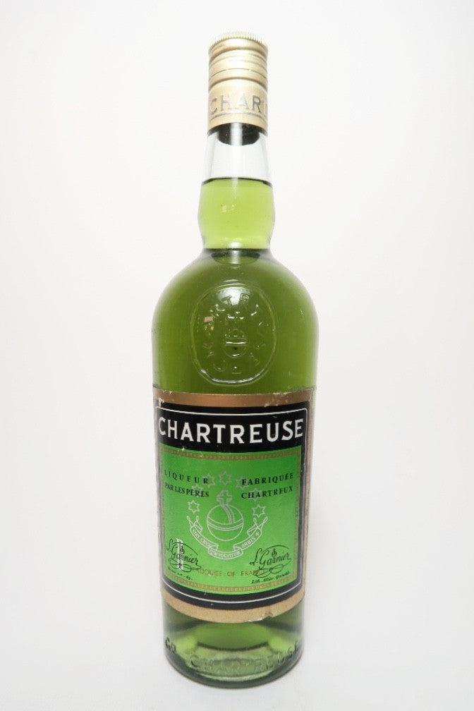 Chartreuse Green Voiron - 1966-82 (55%, 70cl)
