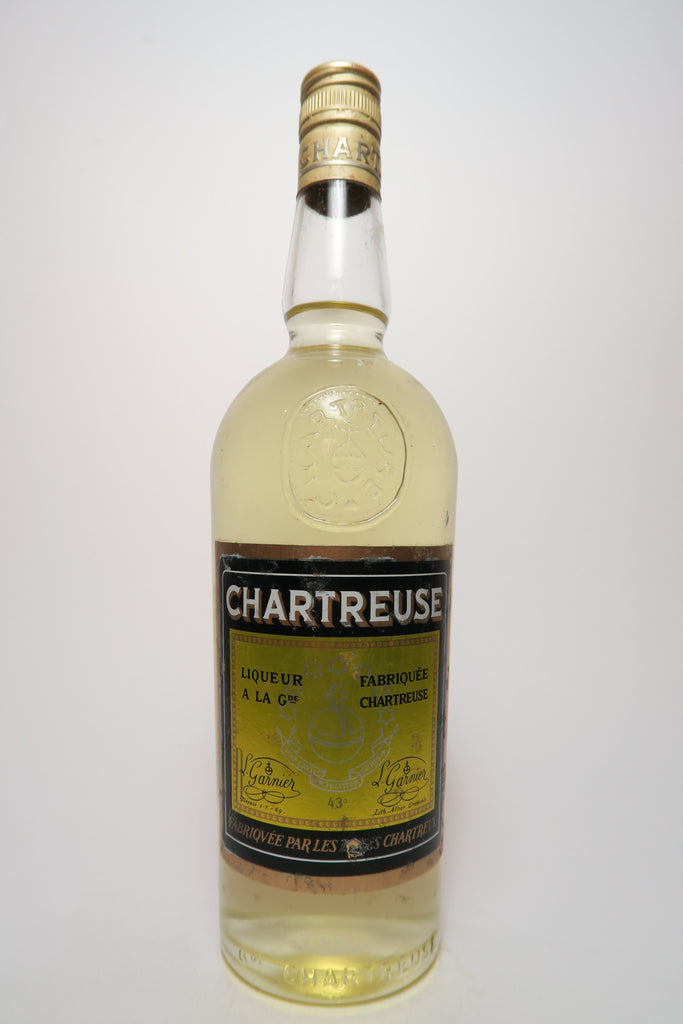 Chartreuse Yellow Voiron - 1966-72 (43%, 70cl)