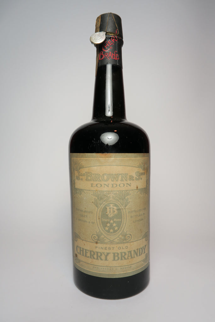 James Brown & Sons Finest Old Cherry Brandy - 1933-44 (36%, 80cl)