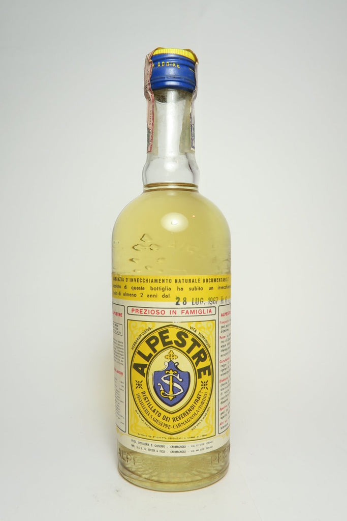 Alpestre	- Dated 1967 (49.5%, 50cl)