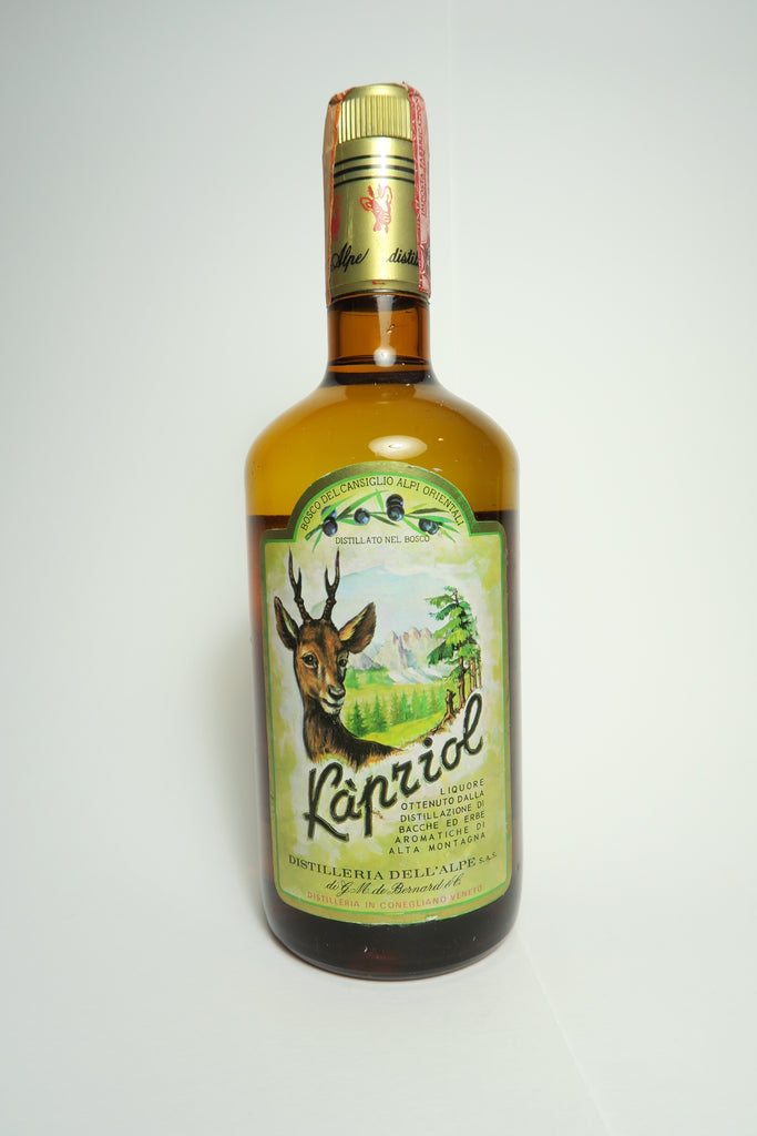 Dell'Alpe Liquore Kapriol - 1970s (42%, 75cl)
