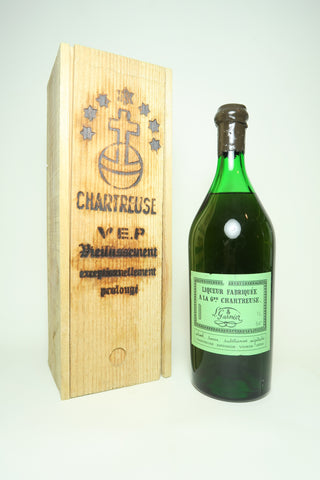 Chartreuse V.E.P. Green - Distilled 1968 / Bottled post-1980 (54%, 100cl)