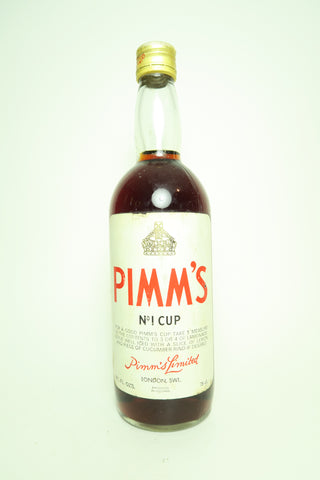 Pimm's No. 1 (Gin) Cup - 1970s, (ABV Not Stated, 75cl)