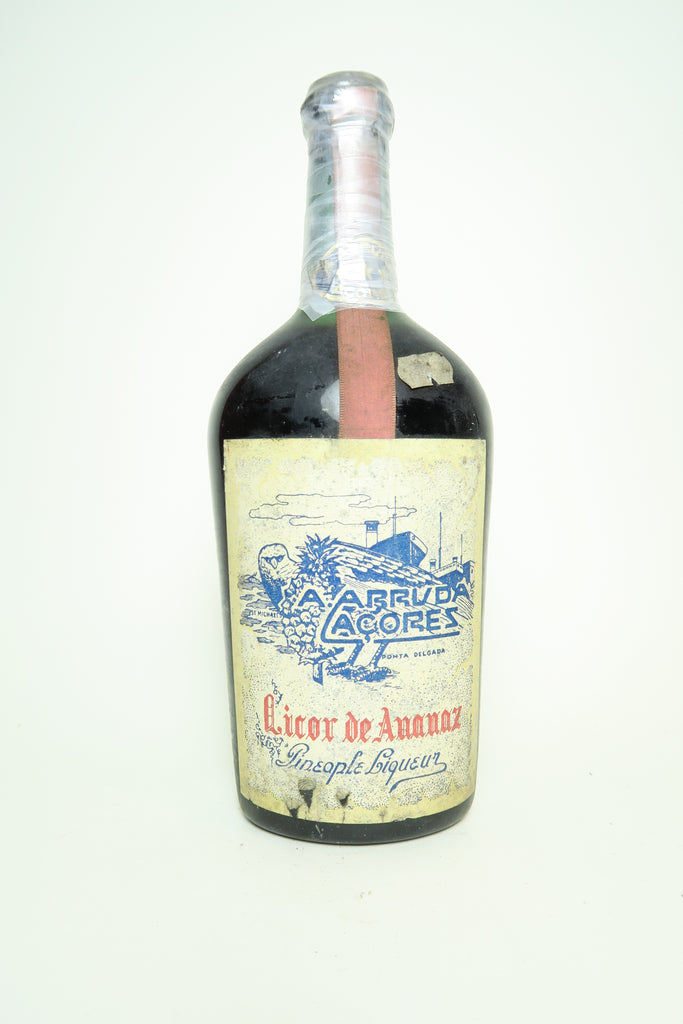 A. Arruda Acores Pineapple Liqueur - 1950s (ABV Not Stated, 67.5cl)