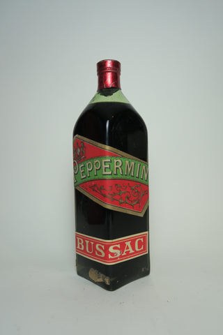 Bussac Peppermint - 1940s (ABV Not Stated, 68cl?)