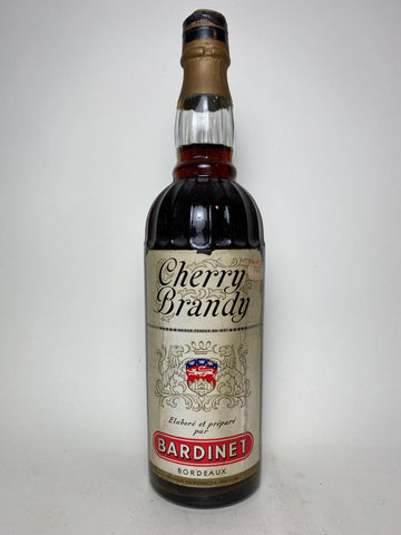 Bardinet Cherry Brandy  - 1960s (ABV Not Stated, 75cl)