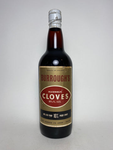 James Burrough's Cloves - 1960s (10%, 75cl)