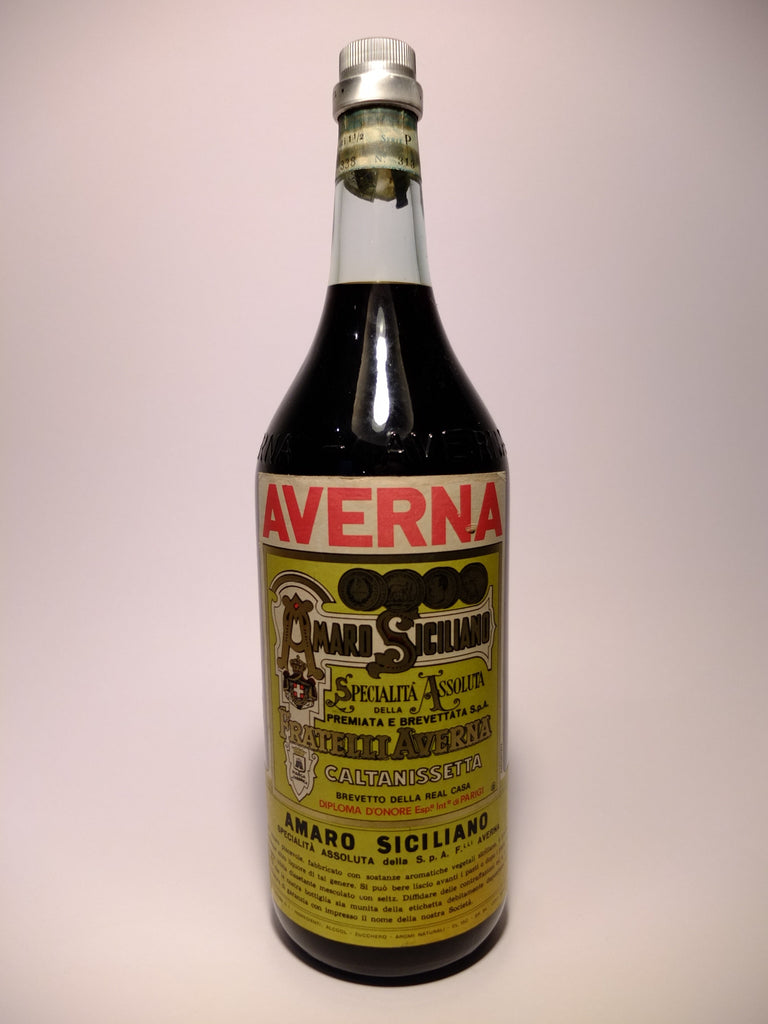 Averna Amaro Sciciliano - 1960s (34%, 150cl)