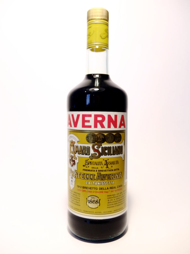 Averna Amaro Sciciliano - 1990s (32%, 100cl)