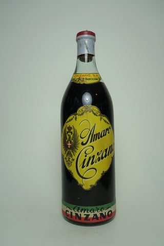 Amaro Cinzano - 1940s (ABV Not Stated, 75cl)