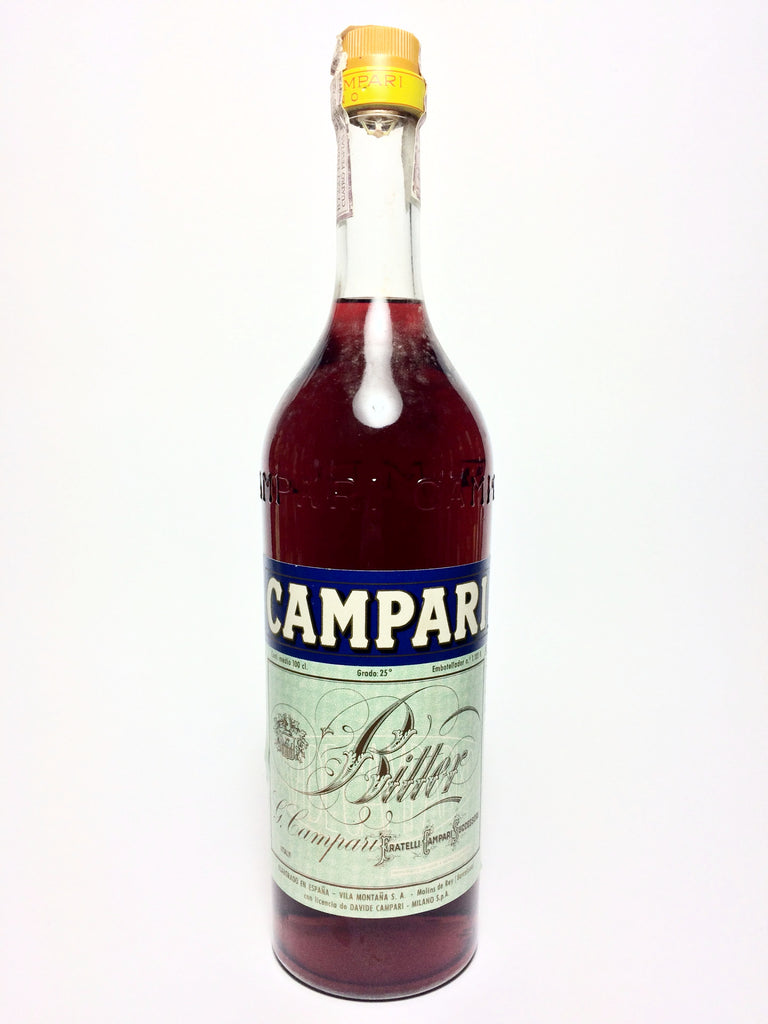 Campari Bitter - 1960s (25%, 100cl)