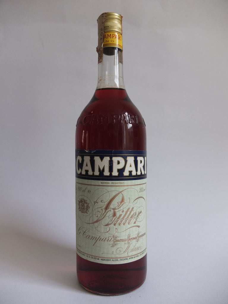 Campari Bitter - 1980s (25%, 100cl)