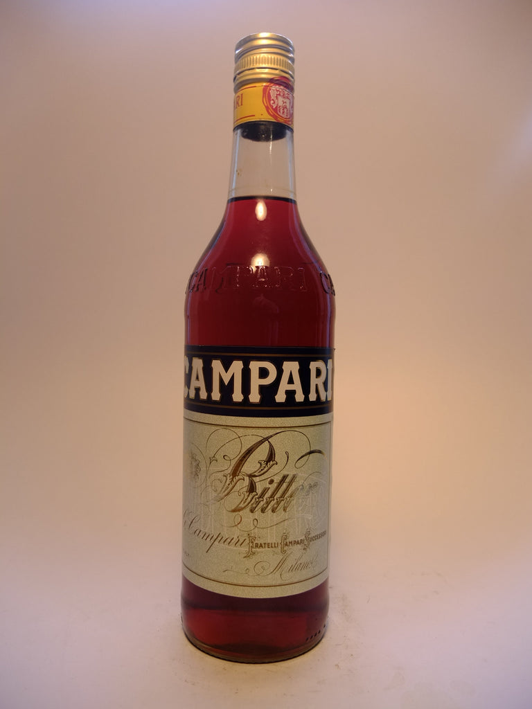 Campari Bitter - 1980s (25%, 70cl)