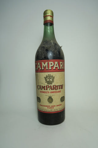 Camparitif Vermouth-Americano - 1930s (ABV Not Stated, 100cl)