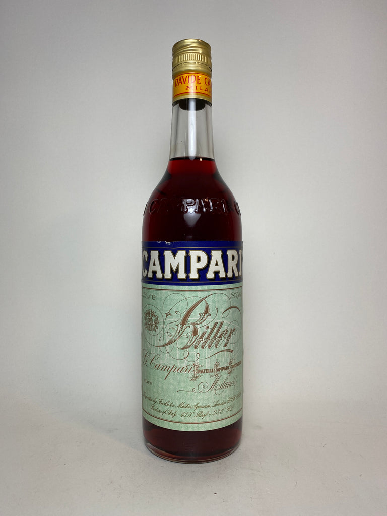 Campari Bitter - 1980s (25%, 75cl)