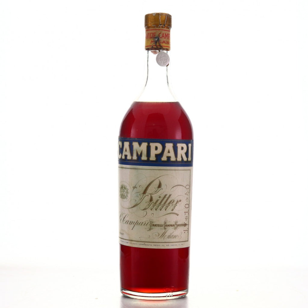 Campari Bitter - 1940s (25%, 100cl)