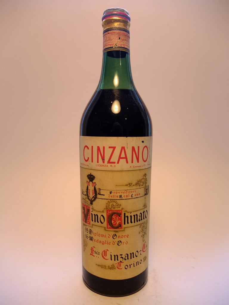 Cinzano Vino Chinato - 1950s (ABV Not Stated, 100cl)