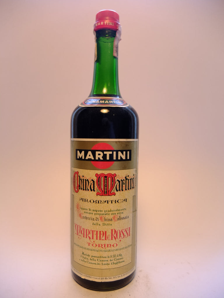 Martini & Rossi China Martini Aromatico - Late 1960s/Early 1970s (31%, 100cl)