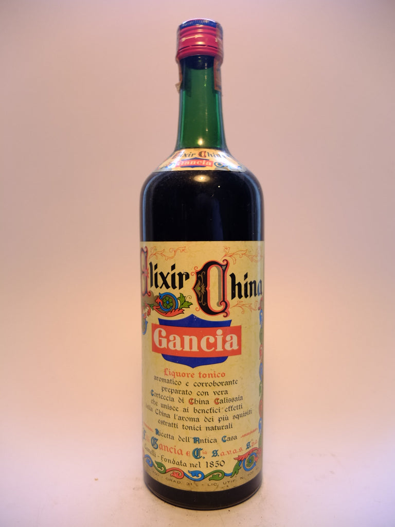Gancia Elixir China - 1970s (31%, 100cl)
