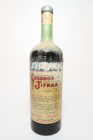 Jules Franc's Goudron Jifran Liqueur	- 1920s (ABV Not Stated, 100cl)