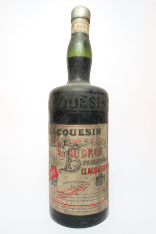 Clacquesin Goudron Liqueur - 1920s (ABV Unknown, 100cl)