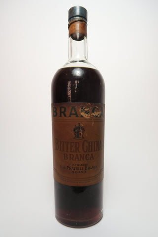 Branca Bitter China - 1940s (ABV Not Stated, 100cl)