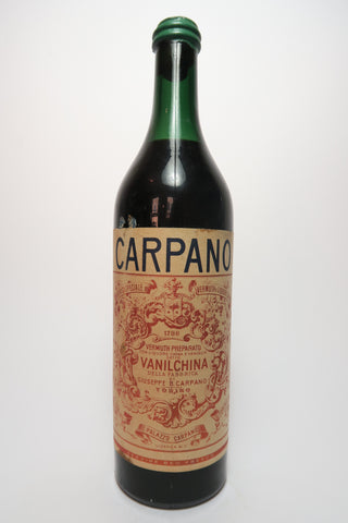 Carpano Vanilchina -  Dated 1950 (ABV Not Stated, 100cl)