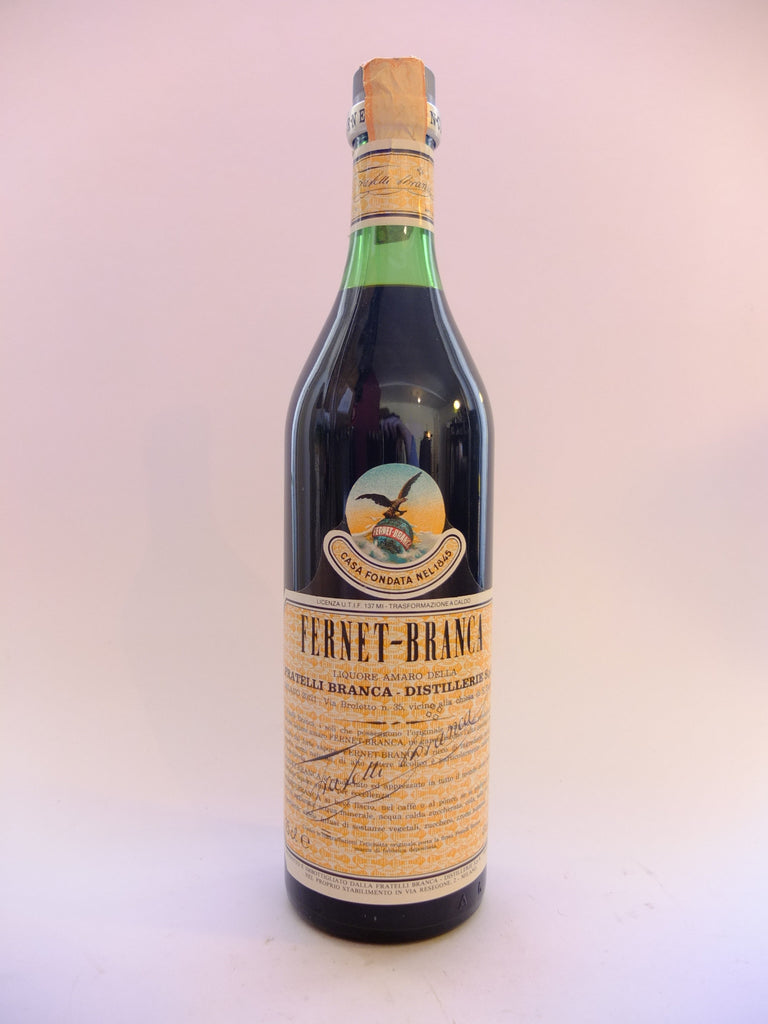 Fernet-Branca - Early 1980s (45%, 75cl)