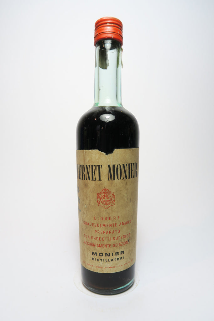 Fernet Monier - 1950s (37%, 37cl)