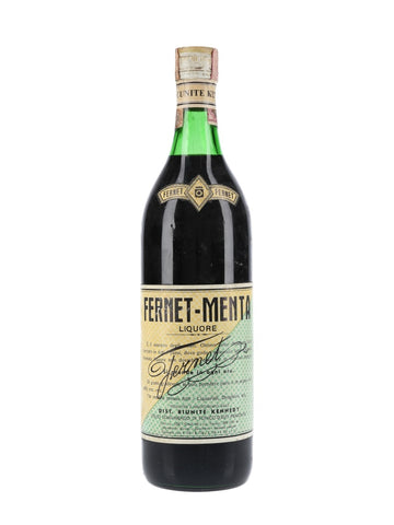 Riunite Kennedy Fernet Menta - 1960s (40%, 100cl)