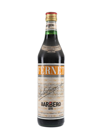 Fernet Barbero - 1980s (45%, 75cl)