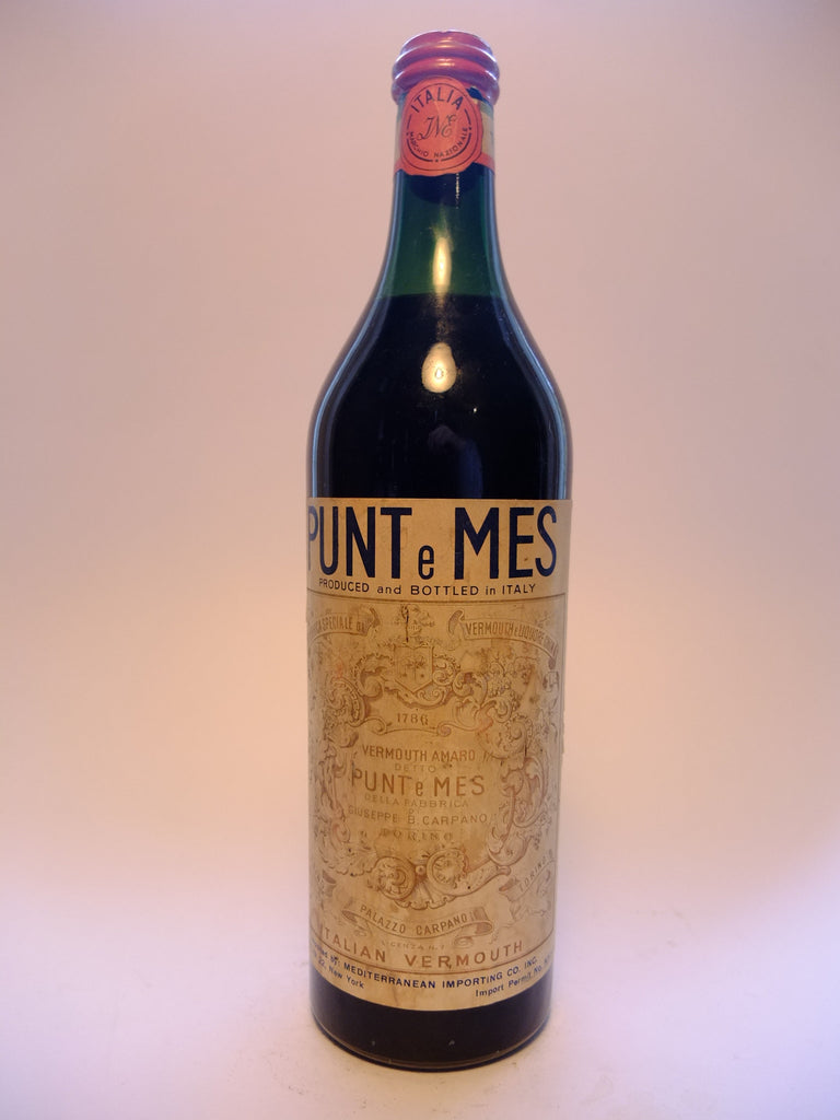 Carpano, Punt e Mes - Dated 1950 (16.5%, 100cl)