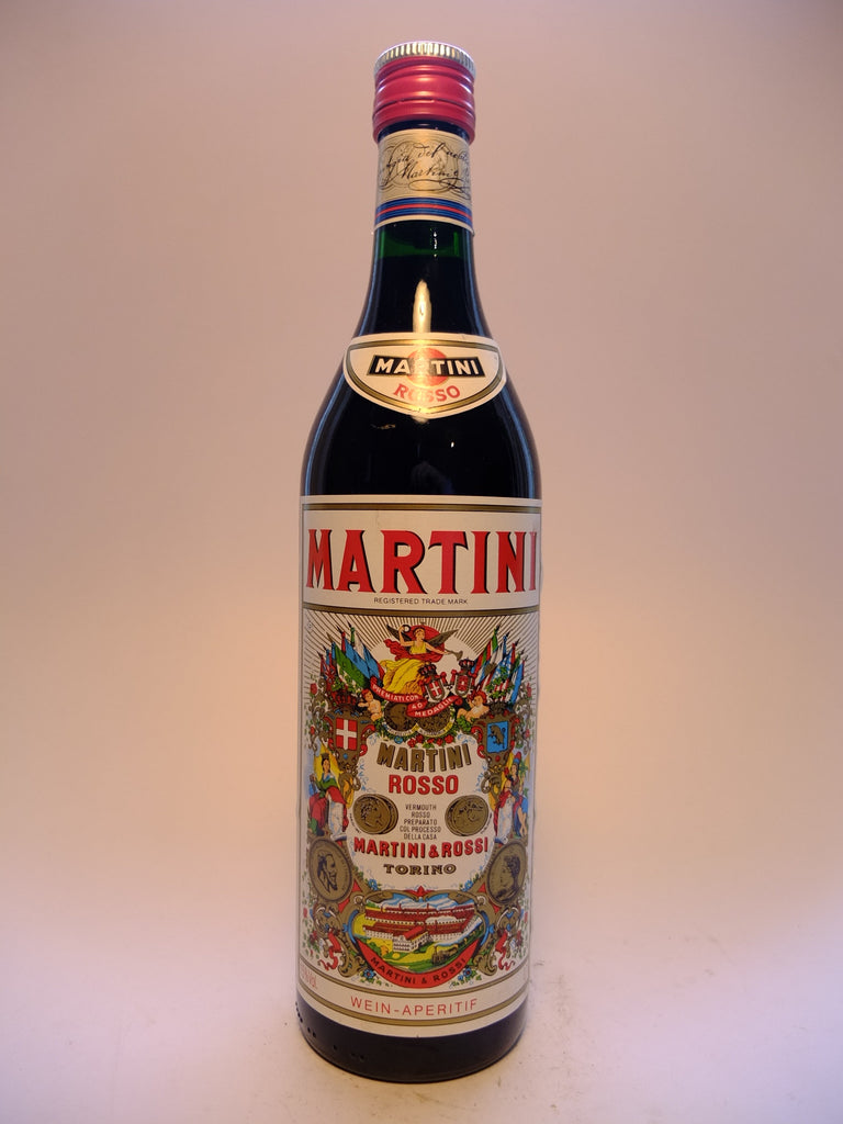 Martini & Rossi Red Vermouth - Early 1980s (15%, 70cl)