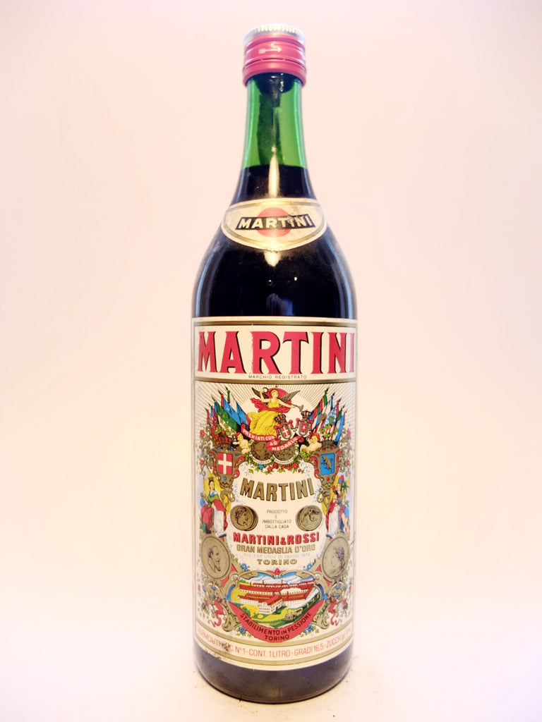 Martini & Rossi Red Vermouth - 1970s (17%, 100cl)
