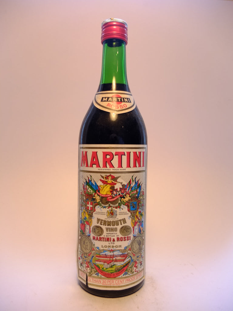 Martini & Rossi Red Vermouth - 1970s (17%, 85cl)