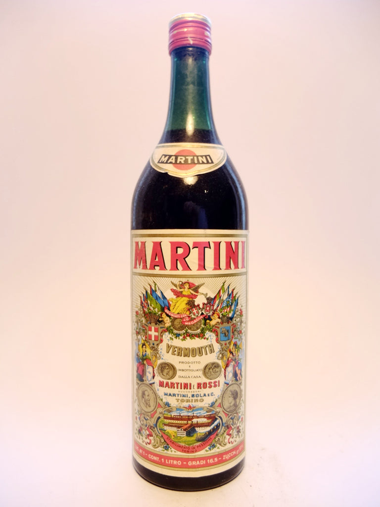 Martini & Rossi Red Vermouth - Early 1960s (16.5%, 100cl)