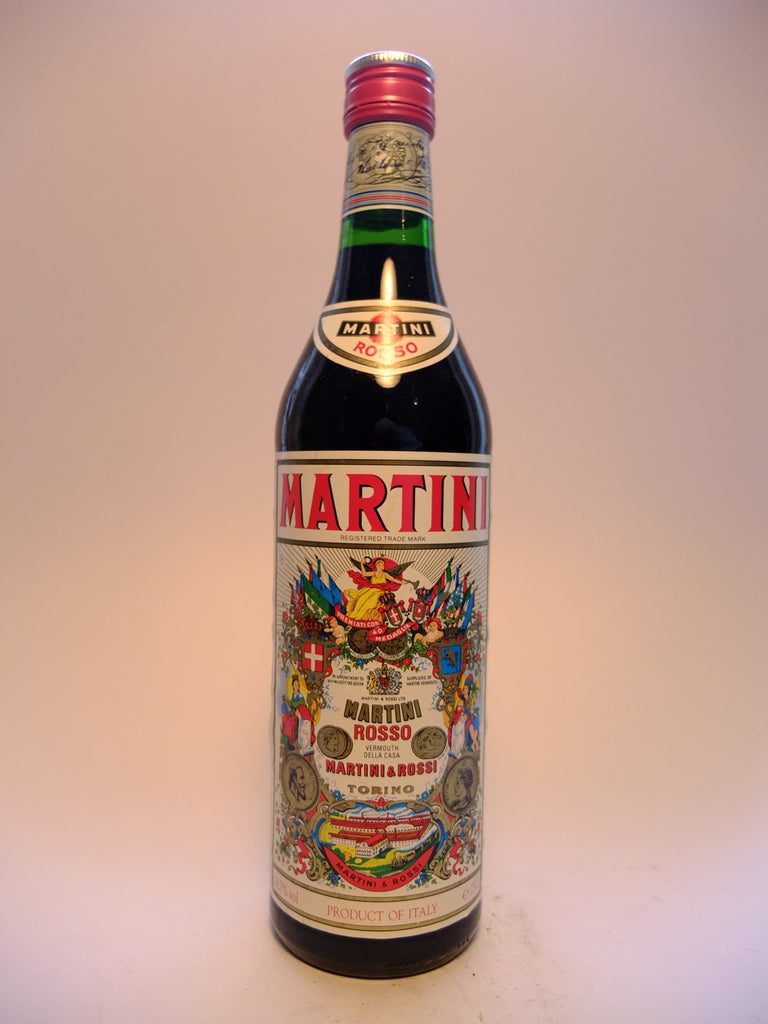 Martini & Rossi Red Vermouth - Early 1980s (14.7%, 75cl)