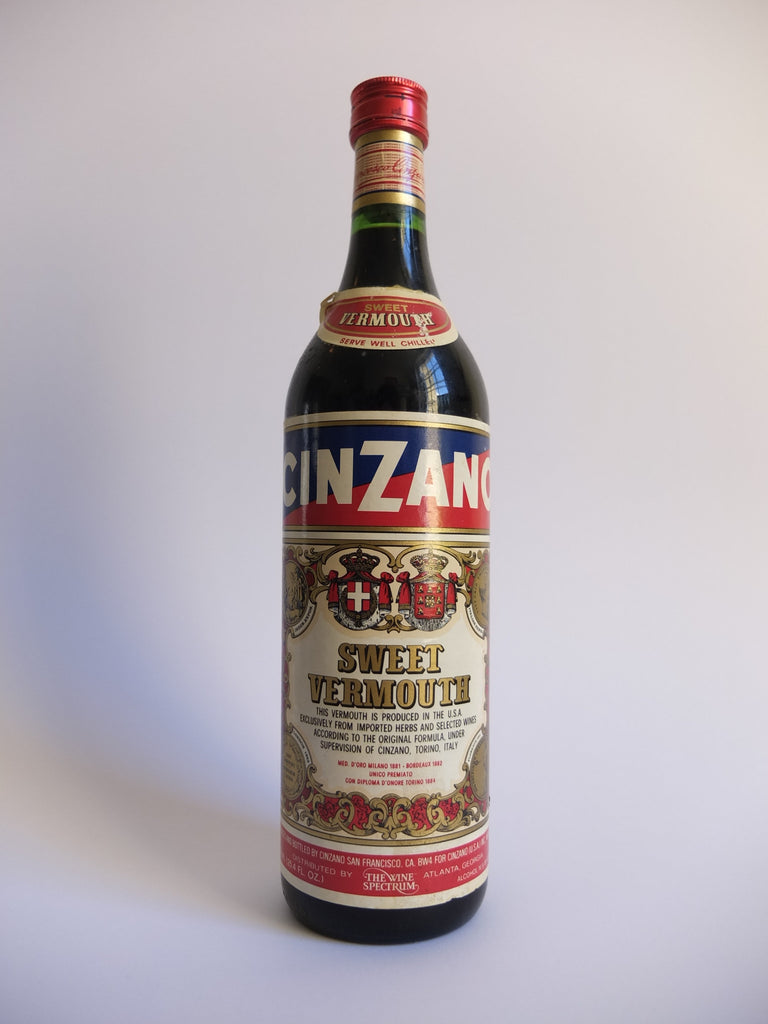 Cinzano Sweet Red Vermouth - 1970s (16%, 75cl)