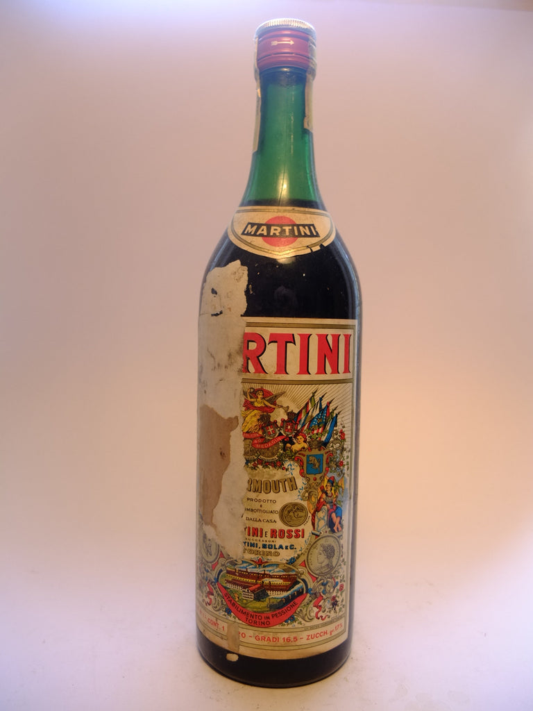 Martini & Rossi Red Vermouth - 1970s (16.5%, 100cl)
