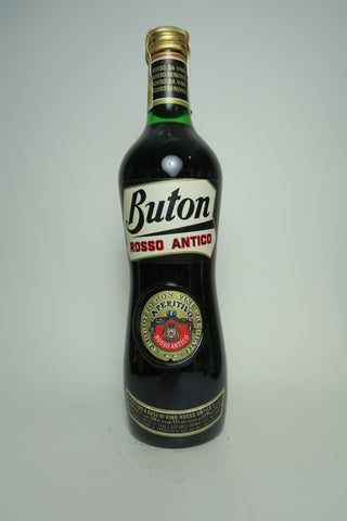 Buton Rosso Antico Sweet Red Vermouth - 1970s (17%, 75cl)