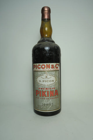 G. Picon Apéritif Pikina - 1930s (ABV Not Stated, 100cl)
