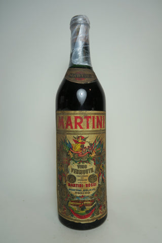 Martini & Rossi Sweet Red Vermouth - 1950s (ABV Not Stated, 100cl)