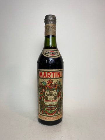 Martini & Rossi Sweet Red Vermouth - early 1950s (17%, 50cl)