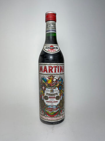 Martini & Rossi Rosso Red Vermouth - 1980s (17%, 75cl)