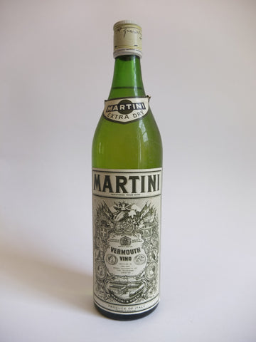Martini & Rossi Extra Dry White Vermouth - 1970s (17%, 75cl)