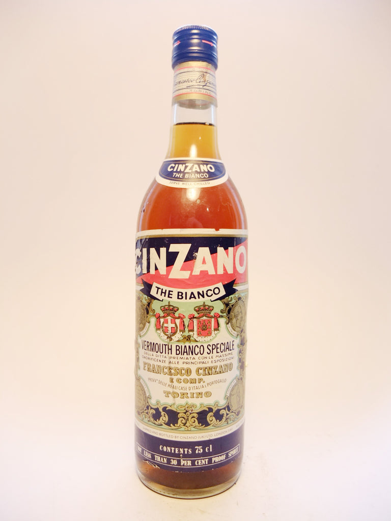 Cinzano Bianco Vermouth - 1970s (17%, 75cl)